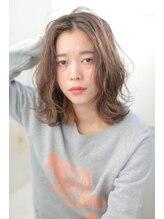 ジーナシンジュク(Zina SHINJYUKU)☆Zina☆3Dカラーで外国人風セミウエットロブ♪