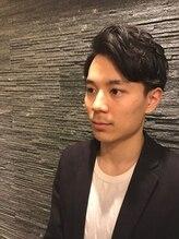 ヒロギンザ 六本木店(HIRO GINZA)ミディアムツーブロックスタイル