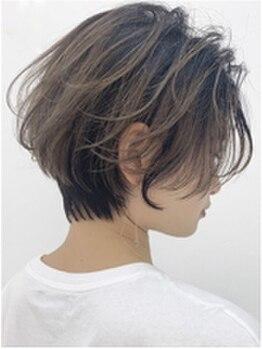 シェノン(hair make CHAINON)の写真/【JR甲子園口すぐ★】毎日のスタイリングが楽しい♪再現性の高いCut技術でふんわり自然な褒められStyleに★