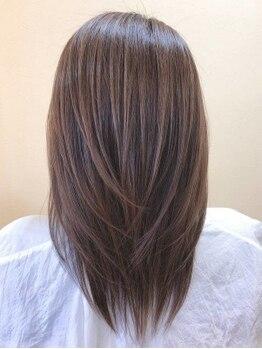 ヘアースペース シュシュ(Hair Space Shou Shou)の写真/口コミにて大好評の【ハーブ縮毛矯正】毛髪の保湿・保護に優れた6種類のハーブエキス配合で艶サラ美髪に―