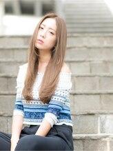 クレア ヘア ガーデン(Claire hair garden)【Claire hair garden】ナチュラルロング×メルトカラー