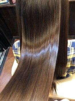 シャンプーボーイアネックス(SHAMPOO BOY Annex)の写真/【髪質改善・傷んだ髪にサヨナラ☆】厳選されたトリートメントでどんな髪も触れたくなるうるツヤ髪に変身♪
