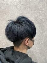 セブン ヘア ワークス(Seven Hair Works)[カラーブリーチコース]ブルーブラック
