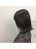 クレーデヘアーズ 相田店(Crede hair's)#切りっぱなし