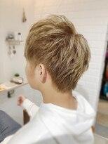 ルルカ ヘアサロン(LuLuca Hair Salon)LuLucaお客様☆スナップ メンズハイトーンカラー
