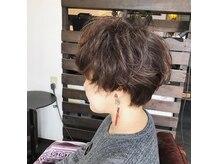 ネスト ヘアーデザイン(NEST hair design)の雰囲気(癖毛ショート、癖毛の強みを活かしました。)