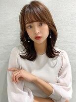 シェルハ(XELHA)アフロート斎藤 20代30代40代◎大人かわいいセミロング流し前髪