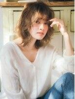 ジュール 銀座 ヘアラウンジ(Joule Hair Lounge)ハイトーン・モテ髪 ミディ 【Joule GINZA】