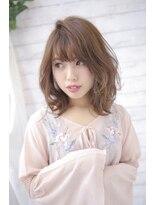春♪外ハネひし形セミディ☆【nanana parena】