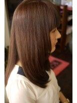 キーナ(Organic Hair KI-NA)内巻感がかわいい重めロング