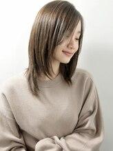 ネオリーブカフ 鶴ヶ峰店(Neolive caff)小顔ツヤ髪「Neolive」ナチュラルストレート3Dカラーベージュ