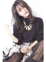 イーリオ(ilio)【ilio-hair atelier-】#大人かわいい#黒髪風#ダークネイビー