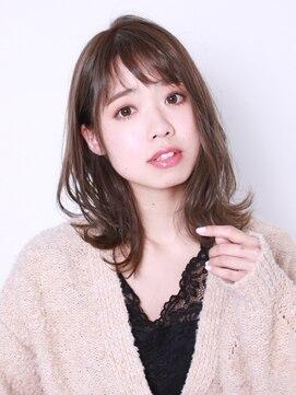 ブラン(Blanc)【Blanc hair】色っぽセミディ 3Dカラー ヘルシーレイヤー