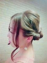 ヘアーアンドリラクゼーション ラシック(Hair&Relaxation LA.CHIC)三つ編みシニヨン