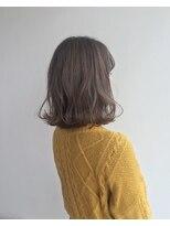 ヘアメイク オブジェ(hair make objet)ハイトーングレージュ ロブ KAI