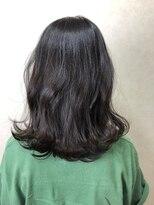 ヘア プロデュース キュオン(hair produce CUEON.)なんちゃって黒染めアッシュカラー