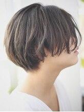 ヘアメイク ブーケ(HAIR MAKE Bouquet)ルーズな質感のハンサムショート