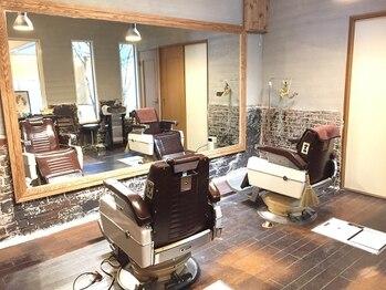 ヘアルーム キキョウ(hair room Kikyo)の写真/メンズはもちろん、女性のお客様にも楽しんでいただける《大人カッコイイ》空間☆