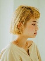 ペグ バイ アディクヘア 町田駅前店(Peg by adic.hair)ハイトーンのミニボブ