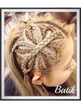 バティック ヘア 川崎店(Batik Hair)お花*コーンロウ