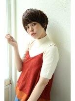 アンアミ オモテサンドウ(Un ami omotesando)【Un ami】 人気!2016ノームコア×ショート 島田梨沙