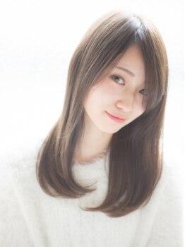 ボノヘアー(bono hair)の写真/抜け感のあるプラチナアッシュでオールシーズンで透明感UP!!