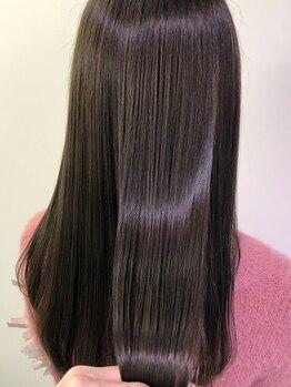 ルッカヨドヤバシ(RUCCA yodoyabashi)の写真/【肥後橋/淀屋橋/本町】今話題の髪質改善メニュー取扱店◇一瞬で憧れの美髪を手に入れられる新メニュー◎