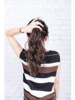 ヘアーメイク ダンス(hair make DANCE)根元が伸びても目立ちにくい!バレイヤージュのリペア