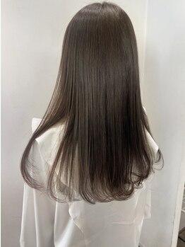 ラック成城(LUCK)の写真/お客様の悩みに合わせて理想のナチュラルストレートを叶えます!ダメージレスに艶のある美髪に…☆