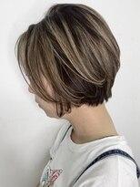 ソース ヘア アトリエ(Source hair atelier)【SOURCE】ショートバレイヤージュ