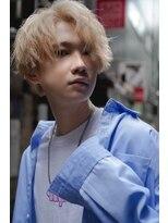 リップスヘアー 銀座(LIPPS hair)ブロンドセンターパート