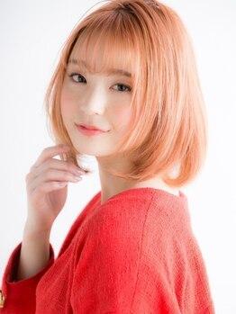 ビス ヘア アンド ビューティー 西新井店(Vis Hair&Beauty)の写真/ミリ単位にこだわるカットとラクなお手入れで、毎朝可愛く&カッコよく![西新井/イルミナ/インナーカラー]