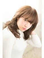 アッシュタカサキ(ash takasaki)大人かわいい小顔☆無造作カール×前下がりフェミニンボブ