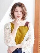 オーブ ヘアー カルネ 松戸店(AUBE HAIR carnet)【AUBE HAIR】大人ミディアム×パーマスタイル