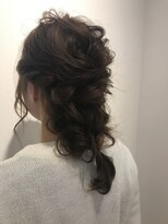 ヘアーリゾートラシックアールプラス(hair resort lachiq R+)《R+》ねじりあみおろし