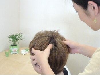 ヘアメイクソラ(Hair make SORA)の写真/スタッフは全員女性のサロン♪話しやすいから色々相談出来ちゃいます☆女性目線の細やかなサービスが◎
