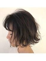チクロヘアー(Ticro hair)【ticro大石】ハイライトグラデ