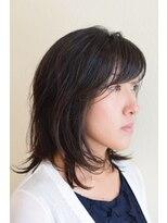 ヘアメイク スコア(Hair Make S CORE)外はねセミディ 【Hair Make S-CORE】 053-445-2100
