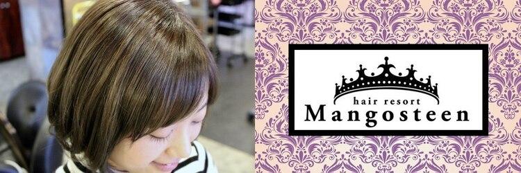 ヘアリゾート マンゴスティン(hair resort Mangosteen)のサロンヘッダー