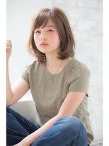 ジョエミバイアンアミ(joemi by Un ami)【joemi】トップノット姫カットミルクティーカラー小倉太郎