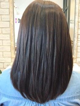 ラフェル(Rafel)の写真/豊田駅徒歩1分◆繰り返すカラーもダメージレスに。毛髪への負担を抑えたとっておきの施術にこだわりあり♪
