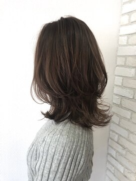 ヘアハウス ルアナ(Hair House Luana by NYNY)外ハネ☆レイヤースタイル