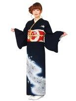 ゲッカビジン(GEKKABIJIN)レンタル訪問着AS83 35000円《東京着物レンタル六本木月下美人》
