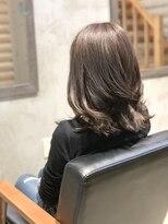 クレエ ヘアー デザイン(creer hair design)アッシュグレージュ