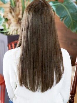 ヘアーズボウリアン(hair's BEAU LiEn)の写真/《綺麗な髪の作り方教えます》お悩みに合わせたケアをご提案♪LiEnこだわりトリートメントを体感してみて♪