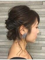 ジェリカ(Jlica)お呼ばれヘア。大人なアップスタイル。