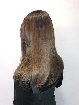アルル 銀座(alulu)の写真/[コロナ対策徹底]【M3D★ピコトリートメント¥8800→¥7920】特許技術で髪質改善!クセを抑えて潤う美人髪へ♪