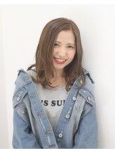 ヘアポジション 仙台富沢店(HAIR Position)グレージュ×ふわカールスタイル