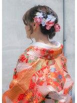 【花嫁ヘアメイク】和装スタイル♪