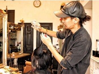 ヘアーデザイニングアリュール(Hair Desining ALLUЯE)の写真/【総社】全国大会での受賞歴のあるスタイリストがカウンセリングを基に一人ひとりに合わせたスタイルに
